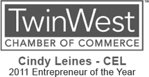 Twin West Entrepreneur of the Year Logo